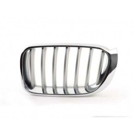 Grille screen front left for BMW X4 f26 x3 f25 2014- X-line chrome Aftermarket Bumpers and accessories