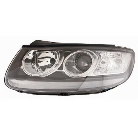 Headlight right front hyundai santafe 2010 onwards black Aftermarket Lighting