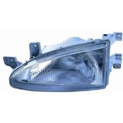 Headlight left front...