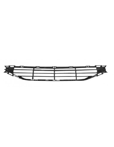 Black central front bumper grill for...