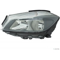 Headlight right front headlight for Mercedes class a W176 2012 onwards H7 hella Headlights and Lights