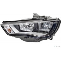 Headlight right front AUDI A3 2012 to 8v dlr hella Headlights and Lights