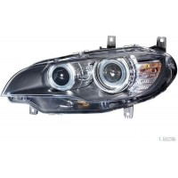 Headlight right front headlight BMW X6 E71 2008 onwards afs Xenon hella Headlights and Lights
