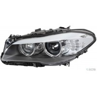 Headlight right front bmw 5 series F10 F11 2010 onwards led xenon din hella Headlights and Lights