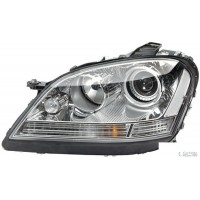 Headlight right front headlight for mercedes ml w164 2005 to 2008 Bi Xenon AFS hella Headlights and Lights