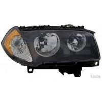 Headlight right front bmx x3 E83 2004 to 2006 h7 Orange Lucana Headlights and Lights