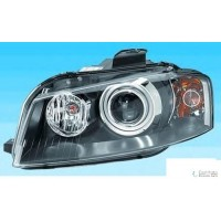 Headlight right front headlight AUDI A3 2005 to 2008 AFS xenon pes marelli Headlights and Lights