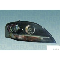 Headlight right front Audi TT 2006 onwards black marelli Headlights and Lights