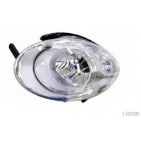 Headlight right front headlight for Fiat 500l 2012 in then top marelli Headlights and Lights