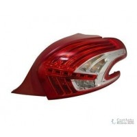 Lamp RH rear light for Peugeot 208 2012 onwards led Lucana Headlights and Lights