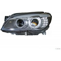 Headlight right front headlight bmw 7 series F01 F02 2009 to 2012 bi Xen hella Headlights and Lights