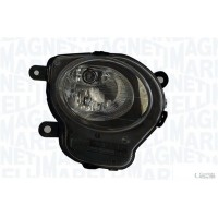 Headlight right front fiat 500 2007 onwards lower black marelli Headlights and Lights
