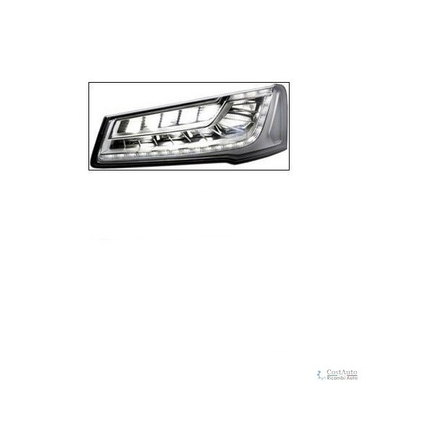Headlight right front AUDI A8 2014 onwards led hella Headlights and Lights