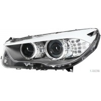 Headlight right front bmw 5 series f07 GT 2010 onwards xenon afs drl hella Headlights and Lights