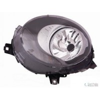 Headlight right front headlight for mini one cooper 2014 onwards black Lucana Headlights and Lights