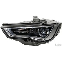 Headlight right front AUDI A3 2012 onwards dark Xenon hella Headlights and Lights