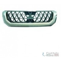 Grille screen for Mitsubishi Pajero sport 1999 to 2004 chrome Lucana Bumper and accessories