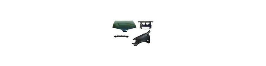 Plates, Side wing, bonnet tailgate, backbone,coating