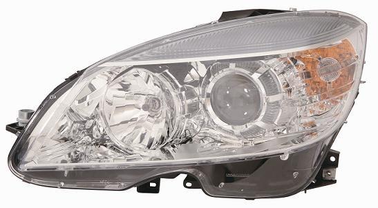 Projektor Scheinwerfer Sx für Mercedes CLC von 2008 in Dann Halogen