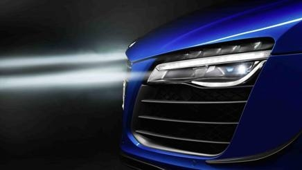 Nuovi fari laser. Audi R8 LMX